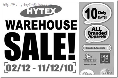 Hytex_Warehouse_Sale