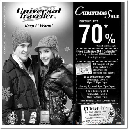 Universal-travel-Christmas-Sale