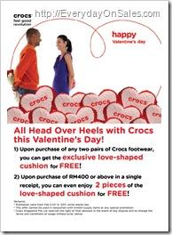 Crocs Valentines Special