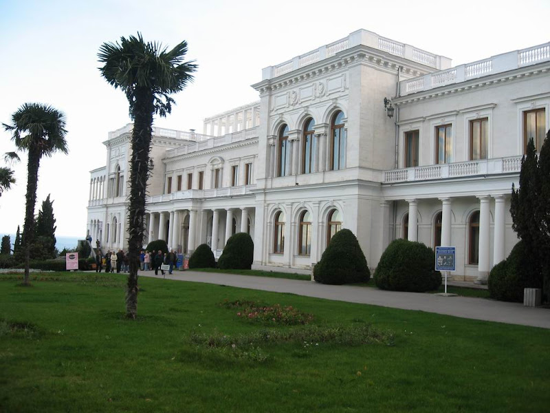 This palace was the Yalta meeting between Roosevelt and Stalin