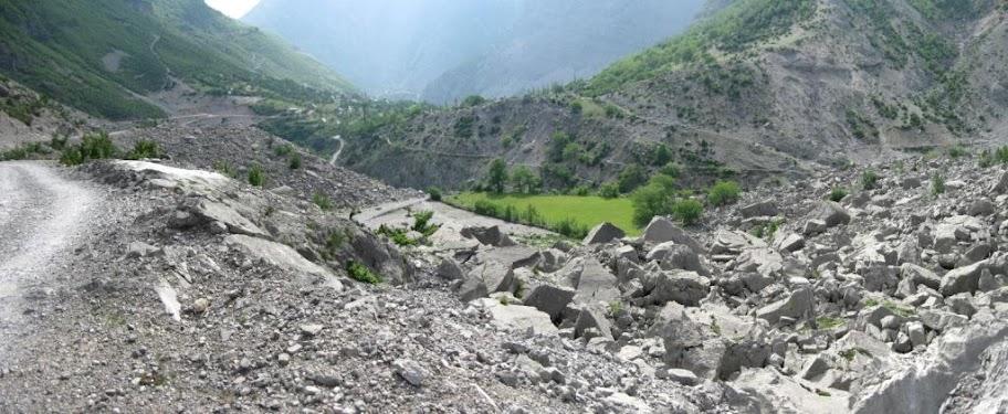 Krševit pejzaž Albanije