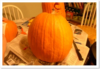 pumpkin carving 003
