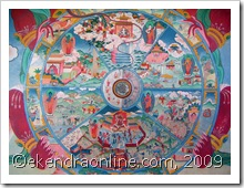 buddhist art work2: click to zoom, new window