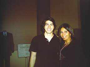 encontro de  monica burich com brandon routh de superman returns