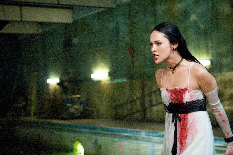 Megan Fox stars as Jennifer Check in 20th Century Fox's Jennifer's Body (2009). Photo by Doane Gregory