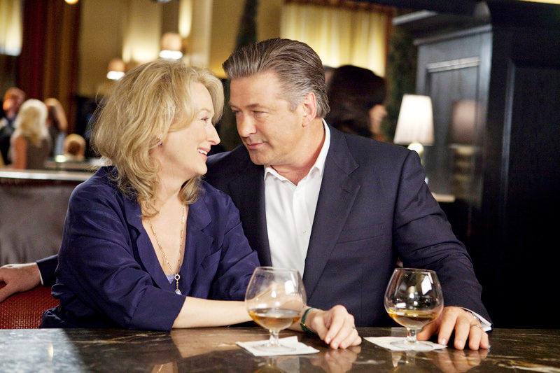 Meryl Streep stars as Jane and Alec Baldwin stars as Jake in IT'S COMPLICATED