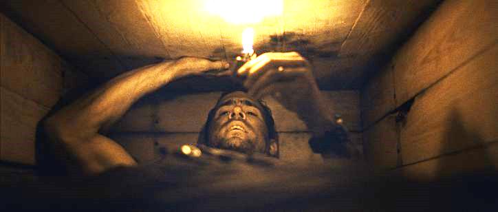 Ryan Reynolds plays Paul Conroy in Buried