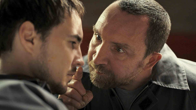 Martin Compston and Eddie Marsan in THE DISAPPEARANCE OF ALICE CREED