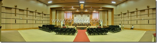 Eksisting1 - Arsiteka (Ruang Sidang Paripurna DPRD Kabupaten Malang)