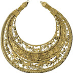 Золотая пектораль - украшение скифского царя