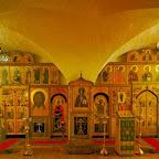 Иконостас храма в свято-Даниловом монастыре