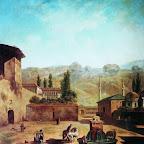 Вид города Бахчисарая 1798 г.