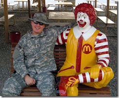 Me with Ronald