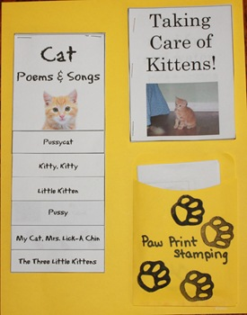 Kittens for Keeps Lapbook