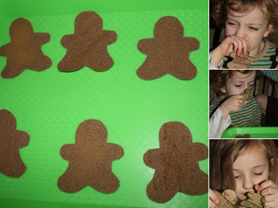 View Smell Match Gingerbread Men