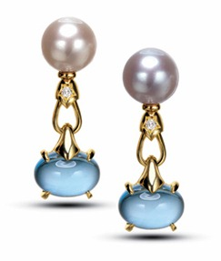 BVLGARI pendant earrings