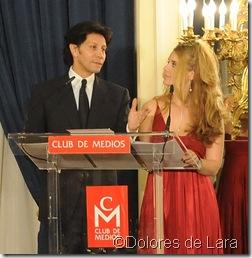 Carlos Peñaloza y Alejandra Navas