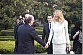 Gulnara Karimova y Antonio Brufau