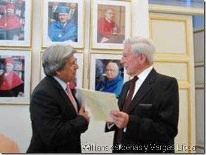 Willians cárdenas y Vargas Llosa