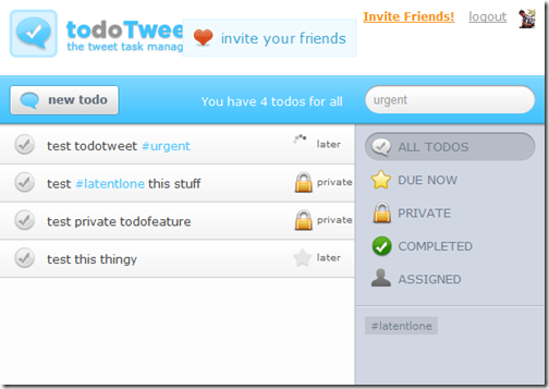 todotweet todo and task management tool integrates into twitter