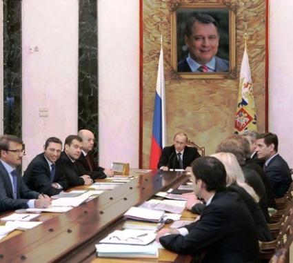 Jiří Paroubek v Kremlu