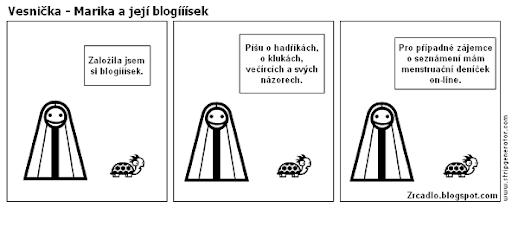 Marika a její blogííísek.