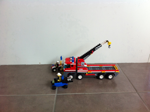 Joshuas Lego display blog  Lego Fire Engine Team