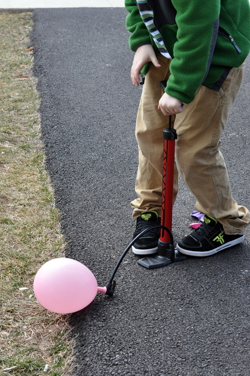 pumping balloons