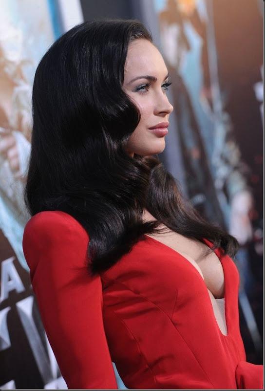 Megan Fox de vestido vermelho (4)