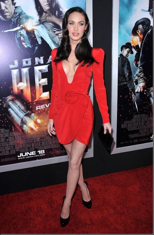 Megan Fox de vestido vermelho (7)