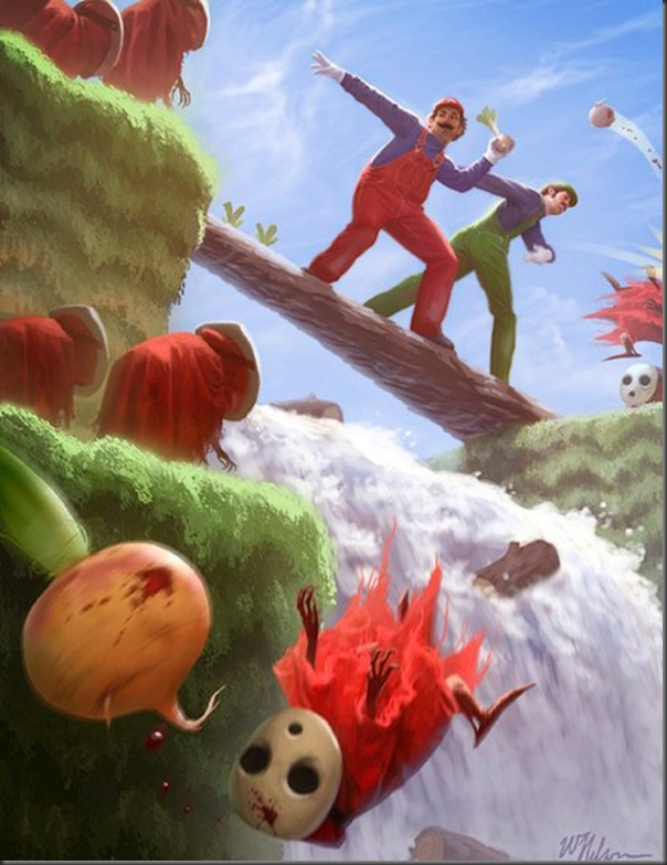 Super pinturas do super mario (5)