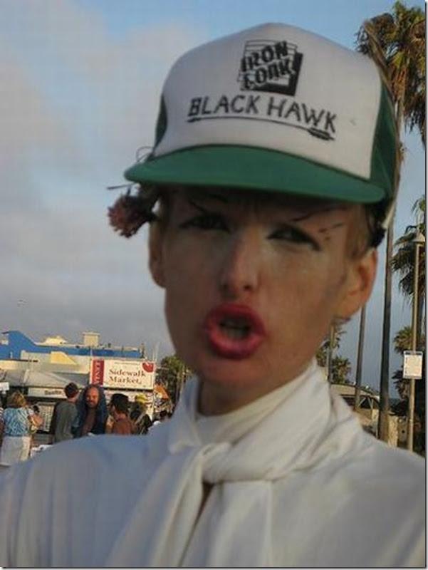 Fotos de pessoas estranhas e engraçadas em praias americanas (15)