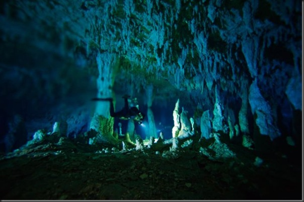 Lindas imagens de cavernas nas Bahamas (22)