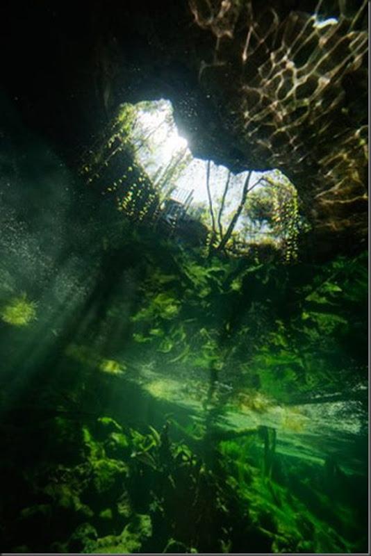 Lindas imagens de cavernas nas Bahamas (20)