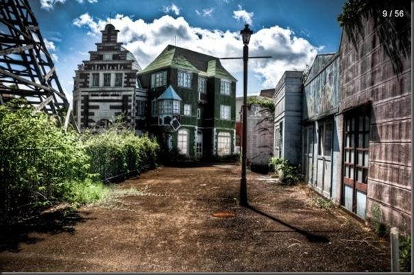 Parque de diversões abandonado no Japão (3)