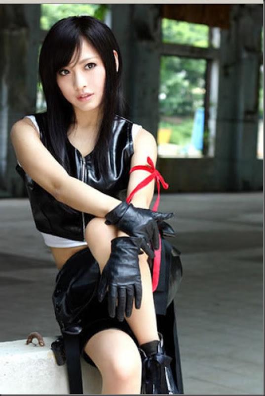 Os melhores cosplays de Tifa Lockheart de Final Fantasy VII (23)