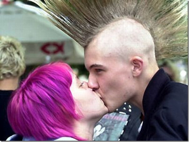 Os punks também amam (2)