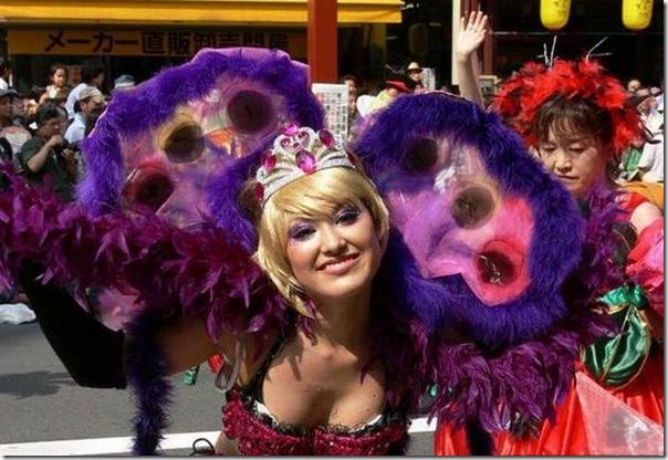 O carnaval no Japão (1)