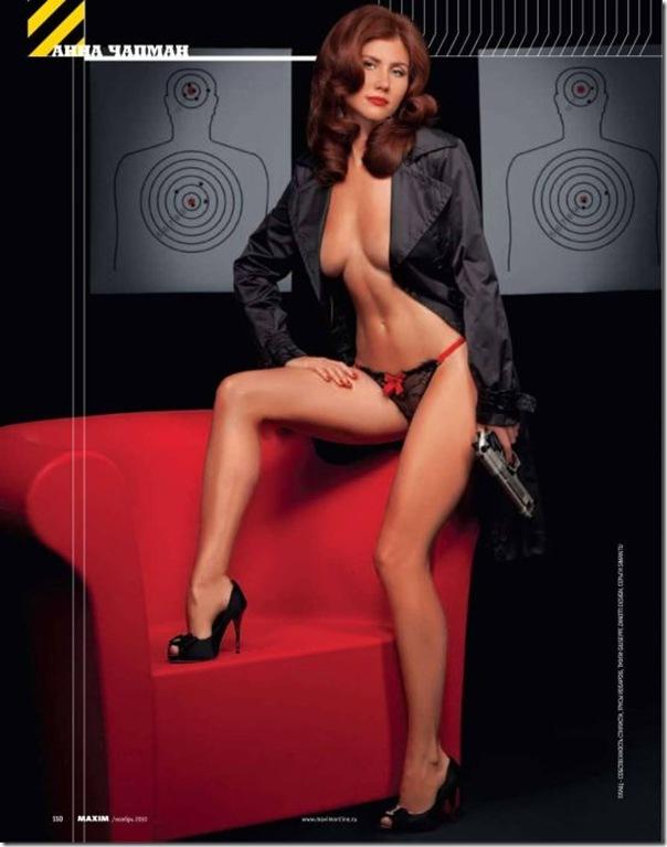 Anna Chapman em fotos sensuais para revista Maxim (3)