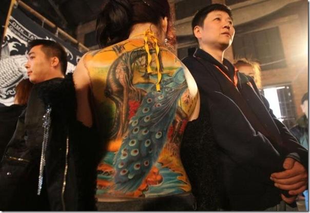 Festival Internacional de Tatuagem em Pequim (4)