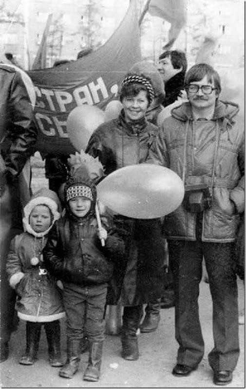 Fotos do passado das pessoas na URSS (20)