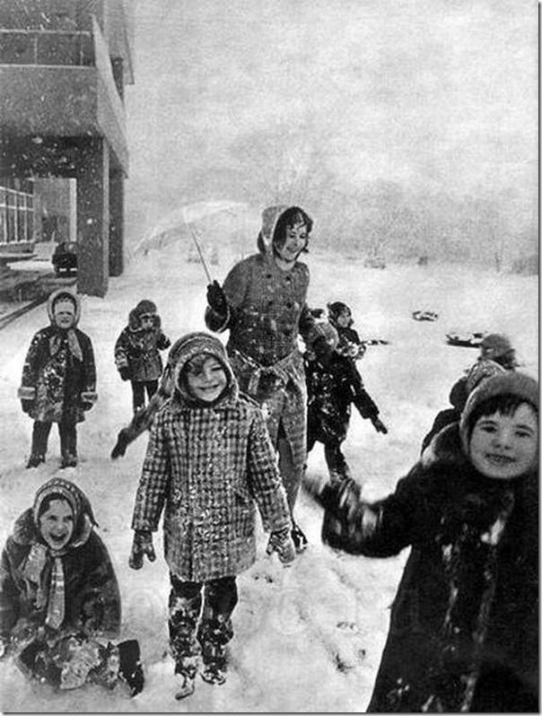Fotos do passado das pessoas na URSS (17)