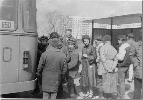 Fotos do passado das pessoas na URSS (4)