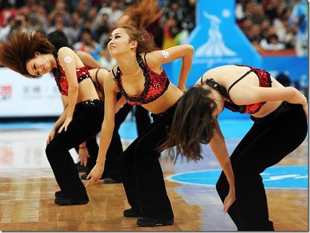 Cheerleaders dos jogos asiaticos (2)