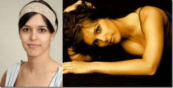 Garotas antes e depios da maquiagem (2)