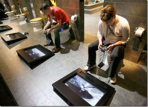 Banheiro para nerds