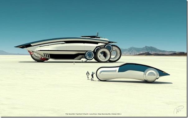 Ilustrações de transportes futuristas (4)
