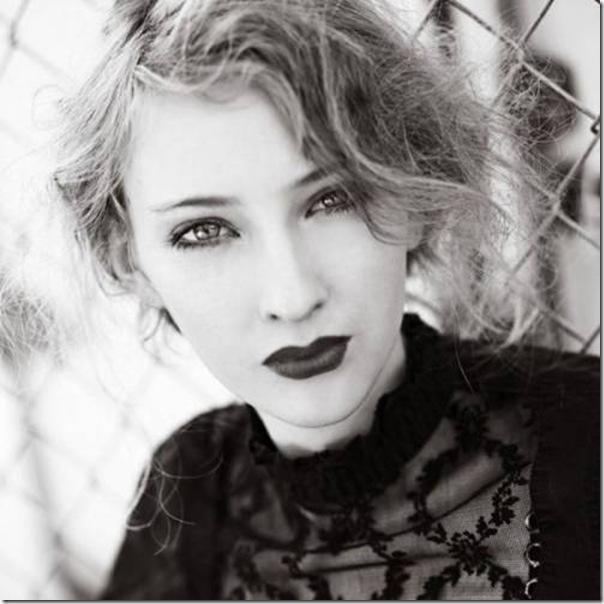 A beleza das garotas em fotos preto e branco (1)