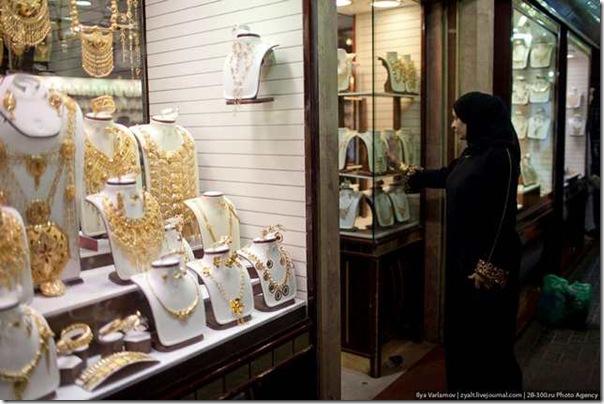 o mercado de ouro de dubai