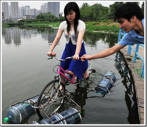 Bicicletas aquáticas